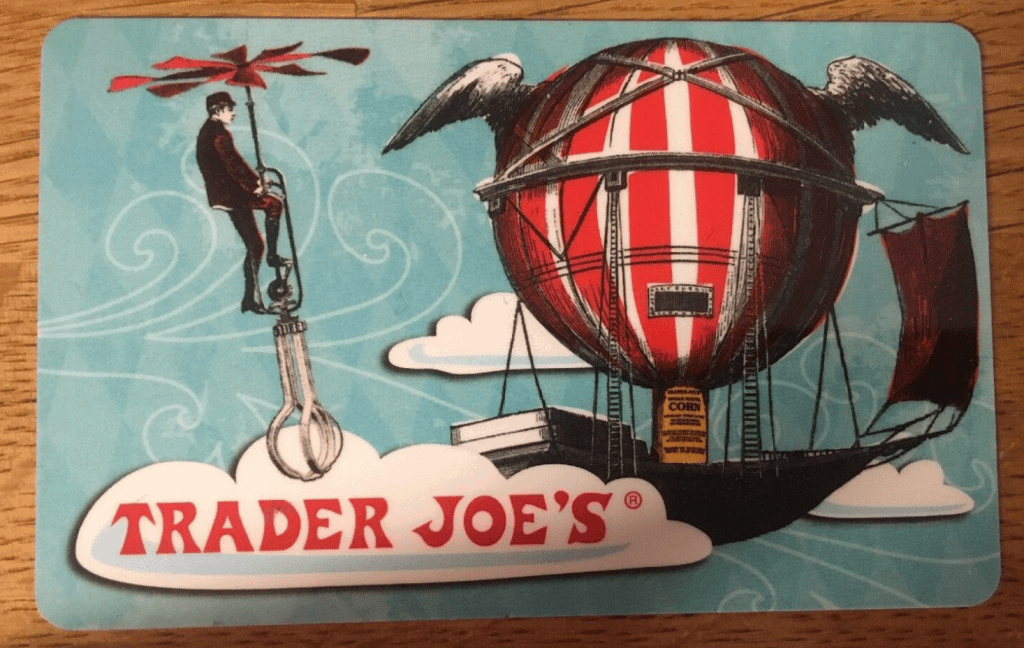 Trader Joe's gift card balance
