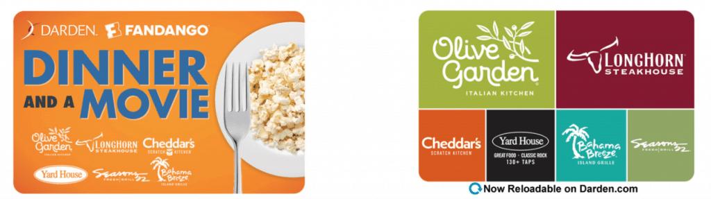 Buy Darden Combo Gift Card Online