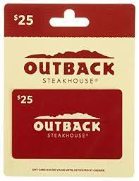 Outback Steakhouse Gift Cards Balance Check