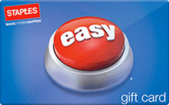 Check staples gift card balance online