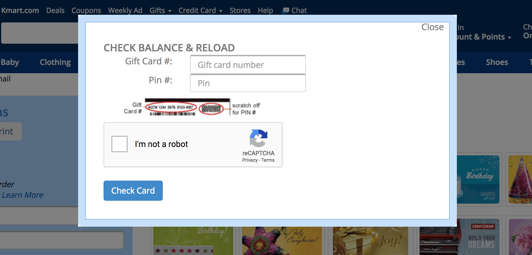 How To Check Sears Gift Card Balance  Gift Card Generator