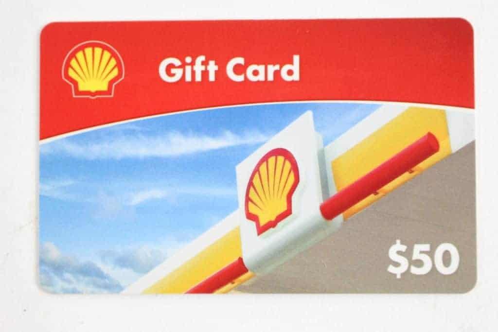 access shell gift card balance