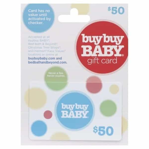 Buybuy baby gift card balance