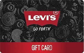 Levi's gift card balance