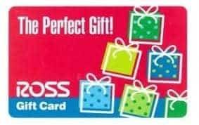 ross gift card