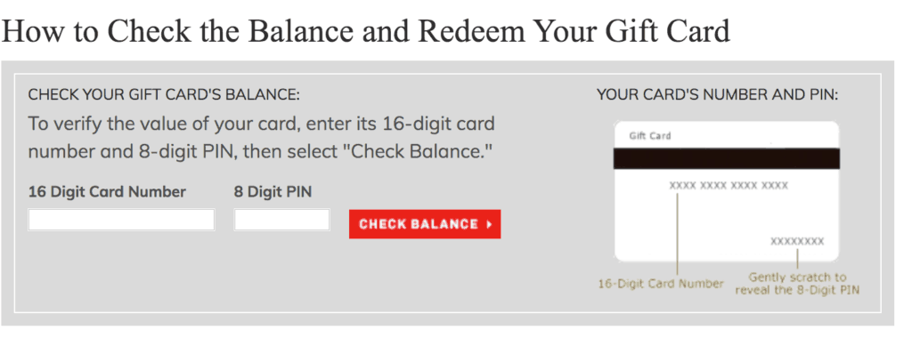 how to redeem williams sonoma gift card
